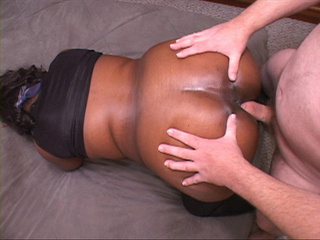 Ponytailed black BBW assfucked - Picture 2
