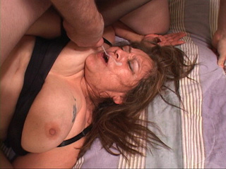 Fat ass Mexican granny takes facial after ass drilling - Picture 3