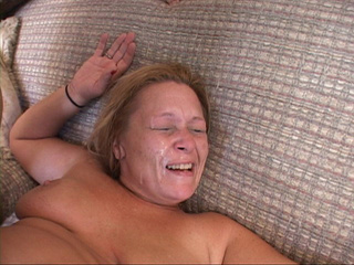 Assfucked blonde housewife takes facial cumshot - Picture 4