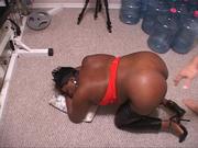 black mom leather pants