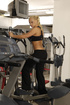 Ponytailed blonde fucking with her fitness trainer…