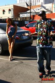 black rapper lucky handle