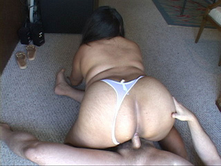 Ebony mom gets her latina ass screwed with boner - Picture 4