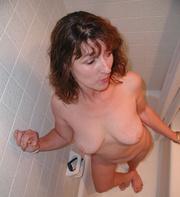 chubby curly mom gag-balled