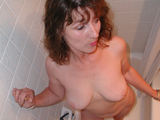 Chubby curly mom gag-balled and fucked - Picture 2