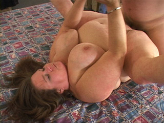 Big-titted fat mom jumps on cock - Picture 2