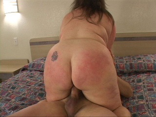 Big-titted fat mom jumps on cock - Picture 4
