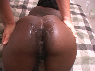 Black chubby mom ass creampied - Picture 3