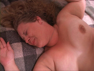 Curly fat mom spreads her cheeks for a long dong - Picture 4