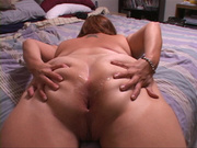 big bottom mom showing