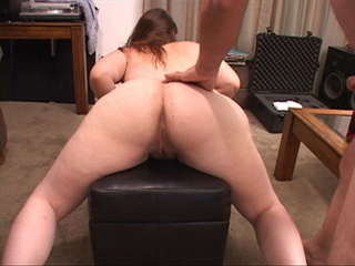 Chubby brunette with tattoos gets her butt stuffed with - Picture 4