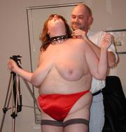 huge mom red panties