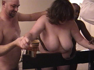 Fat ass mom in stockings ass banged with vibro - Picture 2
