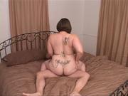 tattooed bitch with huge