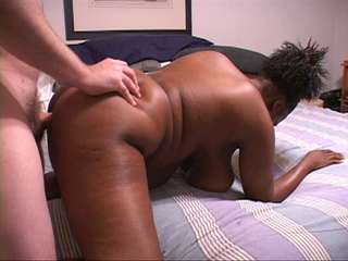 Busty ebony mama doggystyled into pooper - Picture 2