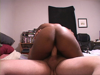 Busty ebony mama doggystyled into pooper - Picture 4