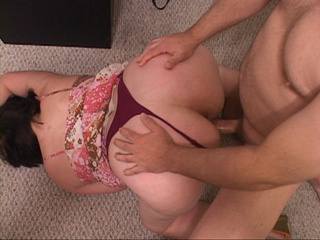 Chubby pigtailed chick face fucked - Picture 3