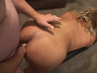 Ebony plump bitch gets it into ass from behind - Picture 1