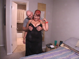 Huge titted latina mom with red hair showing off her - Picture 3