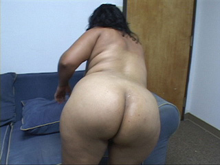 Swarthy plump latina mom gets nude - Picture 2