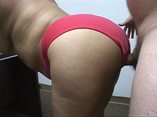 Bootylicious latina mature bitch in red panties fucked - Picture 2