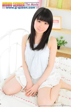 Pretty Japanese teen loves to expose her little pussy - XXXonXXX - Pic 1