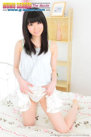 Pretty Japanese teen loves to expose her little pussy - XXXonXXX - Pic 2