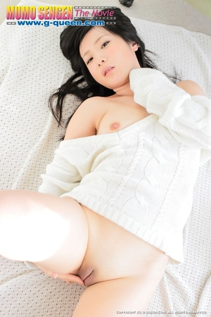 Petite Asian school girl takes off her jeans shorts - XXXonXXX - Pic 14