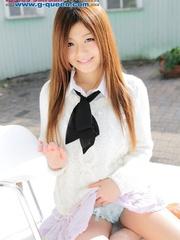 Red Asian school girl in white blouse - XXXonXXX - Pic 5