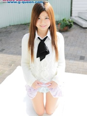 Red Asian school girl in white blouse - XXXonXXX - Pic 8