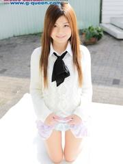 Red Asian school girl in white blouse - XXXonXXX - Pic 8