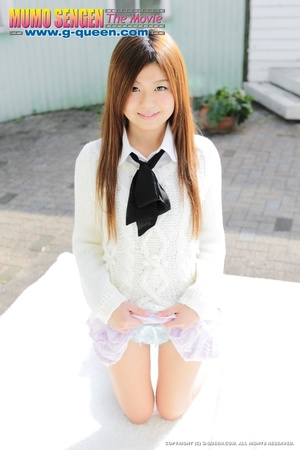 Red Asian school girl in white blouse participating in explicit session - XXXonXXX - Pic 8