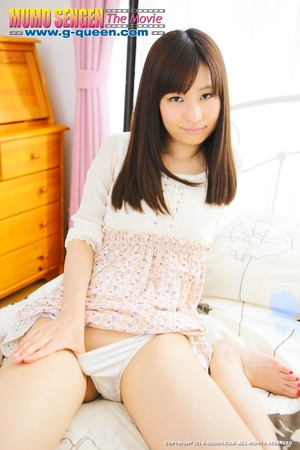 Shy Asian teen lifts her skirt to show her tiny pussy - XXXonXXX - Pic 5