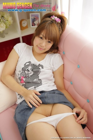 Naughty red ponytailed Japanese teen exposing her tiny pussy - XXXonXXX - Pic 8