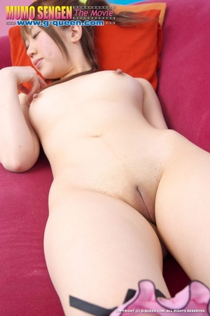 Ponytailed Japanese school girl in high heels gets nude - XXXonXXX - Pic 10