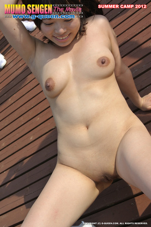 Naughty Asian school girls enjoys their time naked in the pool - XXXonXXX - Pic 15