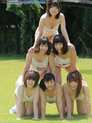 Nude Japanese school girl having their PE classes - XXXonXXX - Pic 1