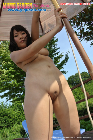 Nude Japanese school girl having their PE classes - XXXonXXX - Pic 13