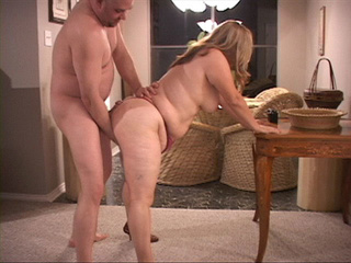 Fair-haired BBW ass stuffed with a thick boner - Picture 2