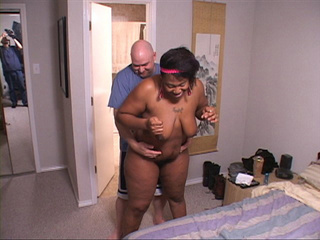 Big titted black mama head fucked before anal sex - Picture 1