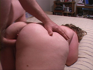 Bootylicious fatty in stockings assdrilled - Picture 1