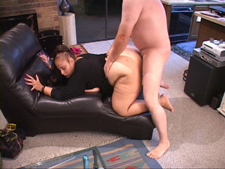 Fat ponytailed latina rides dick backwards - Picture 3