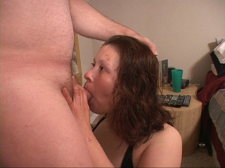Busty brunette mom needs two cocks at once - Picture 1