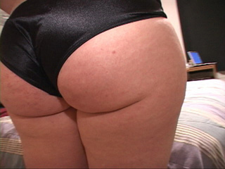 Fat ass bitch in black panties - Picture 3
