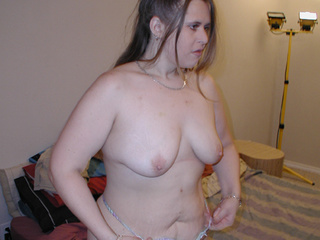 Ponytailed chubby mom jumps on cock - Picture 1