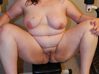 Huge fatso handles by two fat-ass lovers - Picture 2