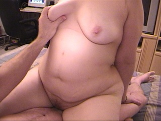 Ponytailed chubby mom jumps on cock - Picture 4