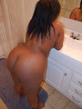 Big bottom black mom showing off her - Picture 3