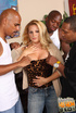 Big breasted horny wife invite local gang to tap…