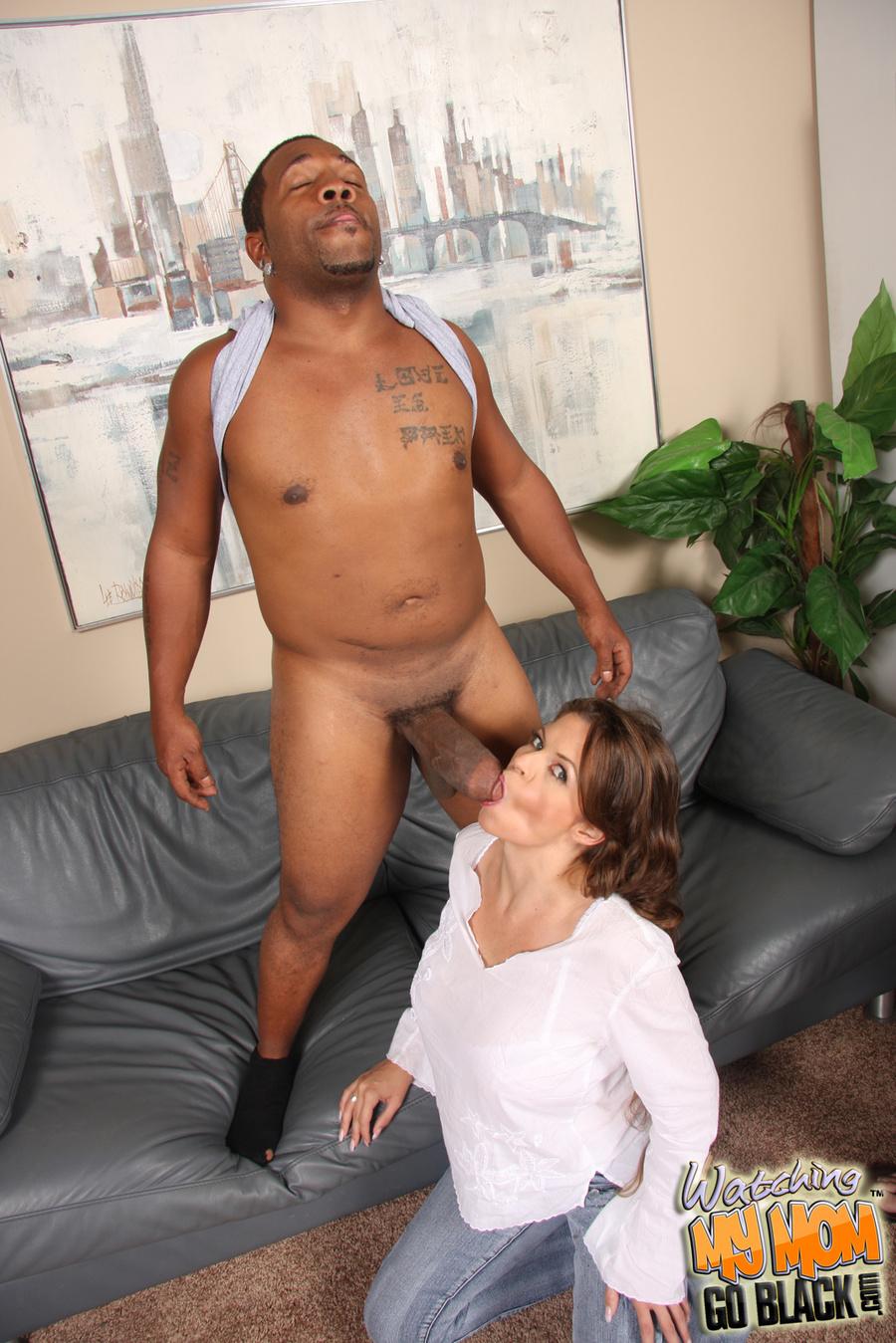 boy begging busty mom